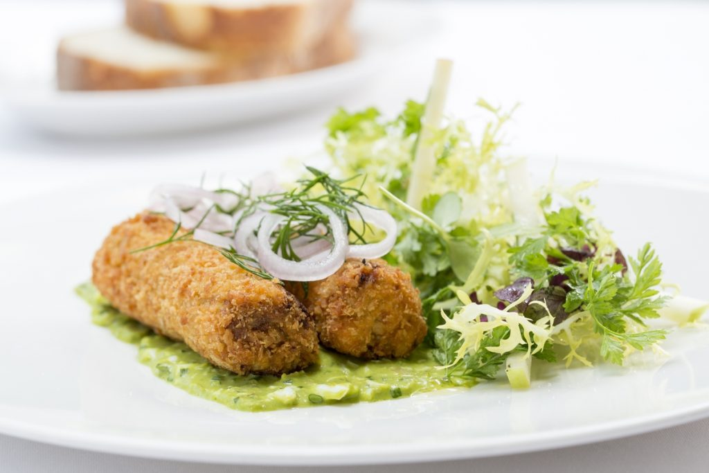 Galvin brothers to open restaurant at Centurion Club, St Albans | Pig head croquettes, apple & frisse salad, sauce gribiche
