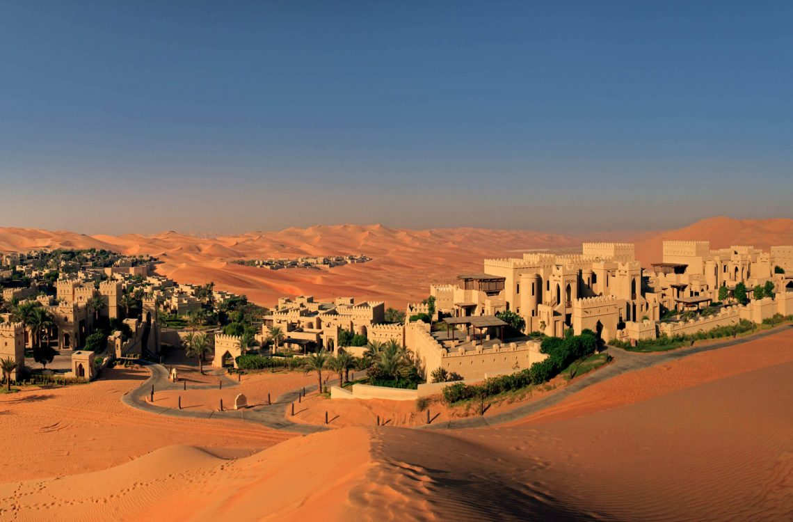 Luxurious Desert Hotels You Need To Know About | Part II | Qasr Al Sarab Desert Resort by Anantara- Abu Dhabi
