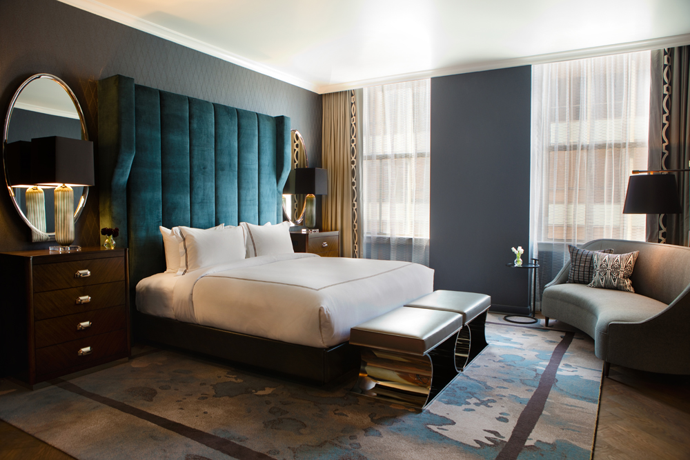 The Best Art Deco Hotels The World Has To Offer | The Kimpton Cardinal - Winston-Salem, North Carolina, USA