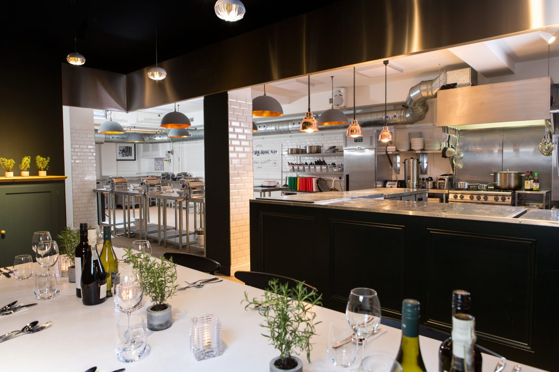 Cook Up A Feast At The Underground Cookery School