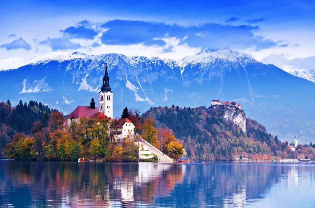 Extraordinary Luxury Autumn Escapes | Part I | Lakeside Leaf-Peeping In Slovenia