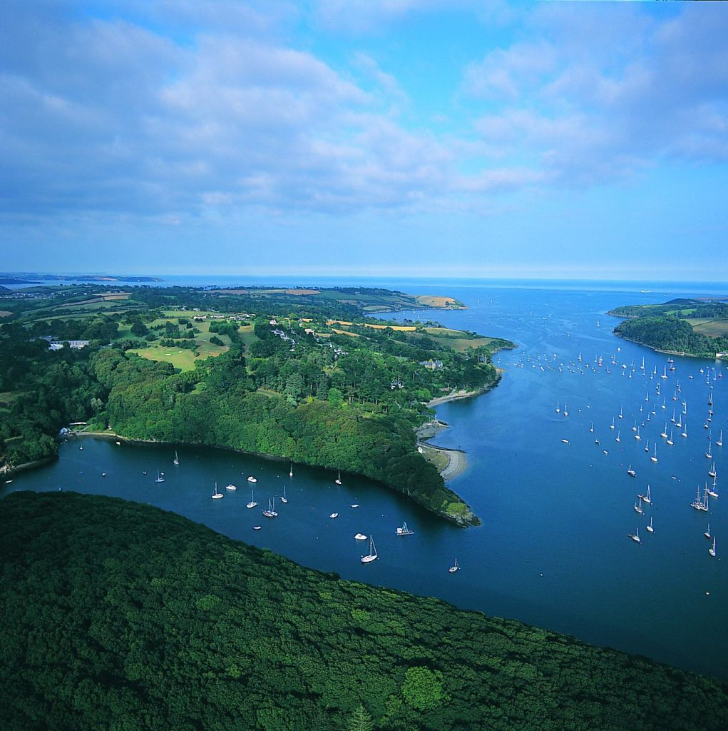 Extraordinary Luxury Autumn Escapes | Part II | Go Kayaking Up The Helford To Frenchman's Creek