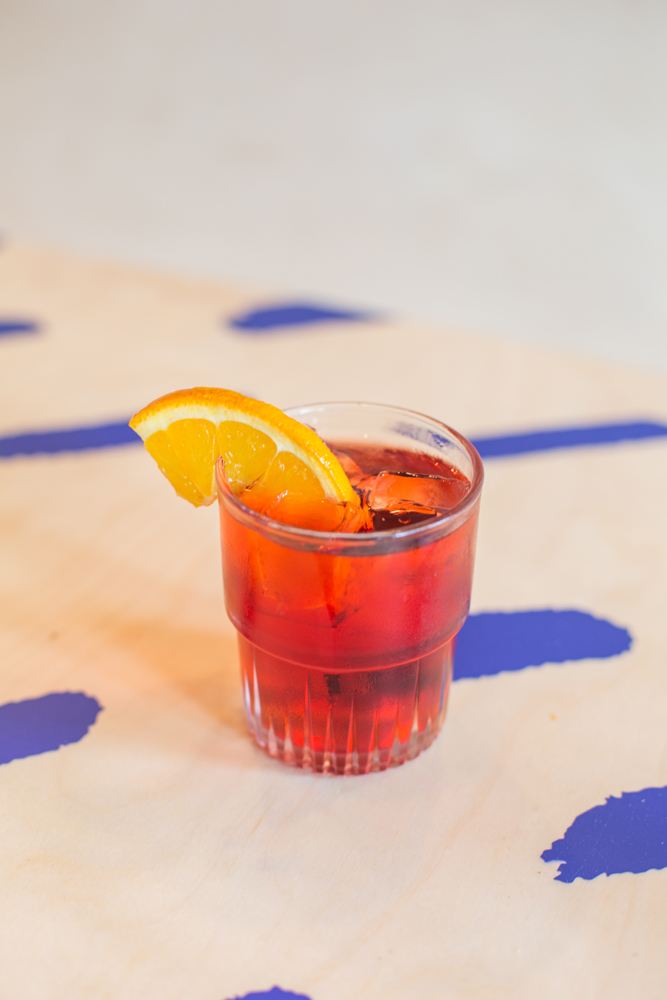 11 Places Where You NEED To Eat & Drink This Halloween | Vampire Negroni - Four Hundred Rabbits