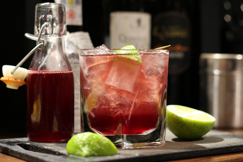 11 Places Where You NEED To Eat & Drink This Halloween | Deathly Damson Cocktail - The Unruly Pig, Suffolk