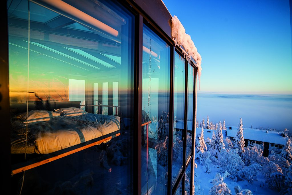 World's Most Breathtaking Rooms with a View | Eagles View Suite, Iso Syöte, Finland