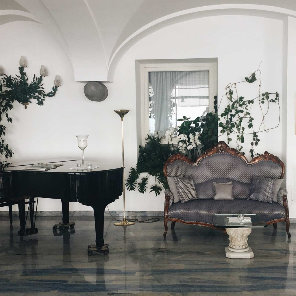 Hotel Santa Caterina | The Interior Decor