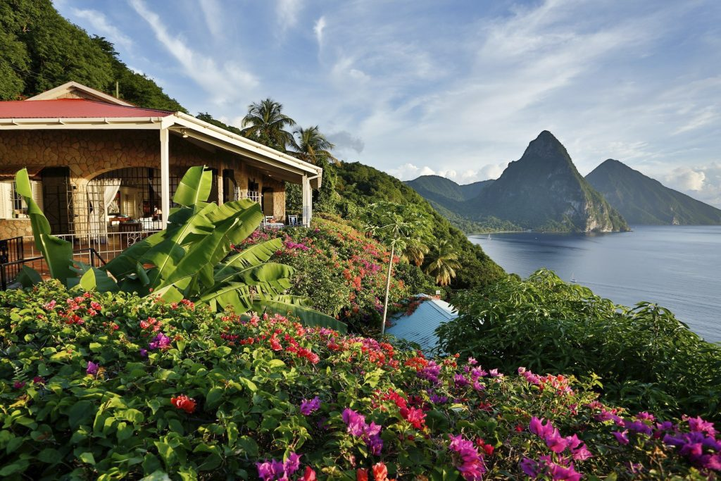 World's Most Breathtaking Rooms with a View | Oliver Travels, Tamarind House, St Lucia, Caribbean
