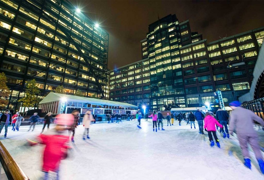 Ice Skating London | Broadgate Ice Rink