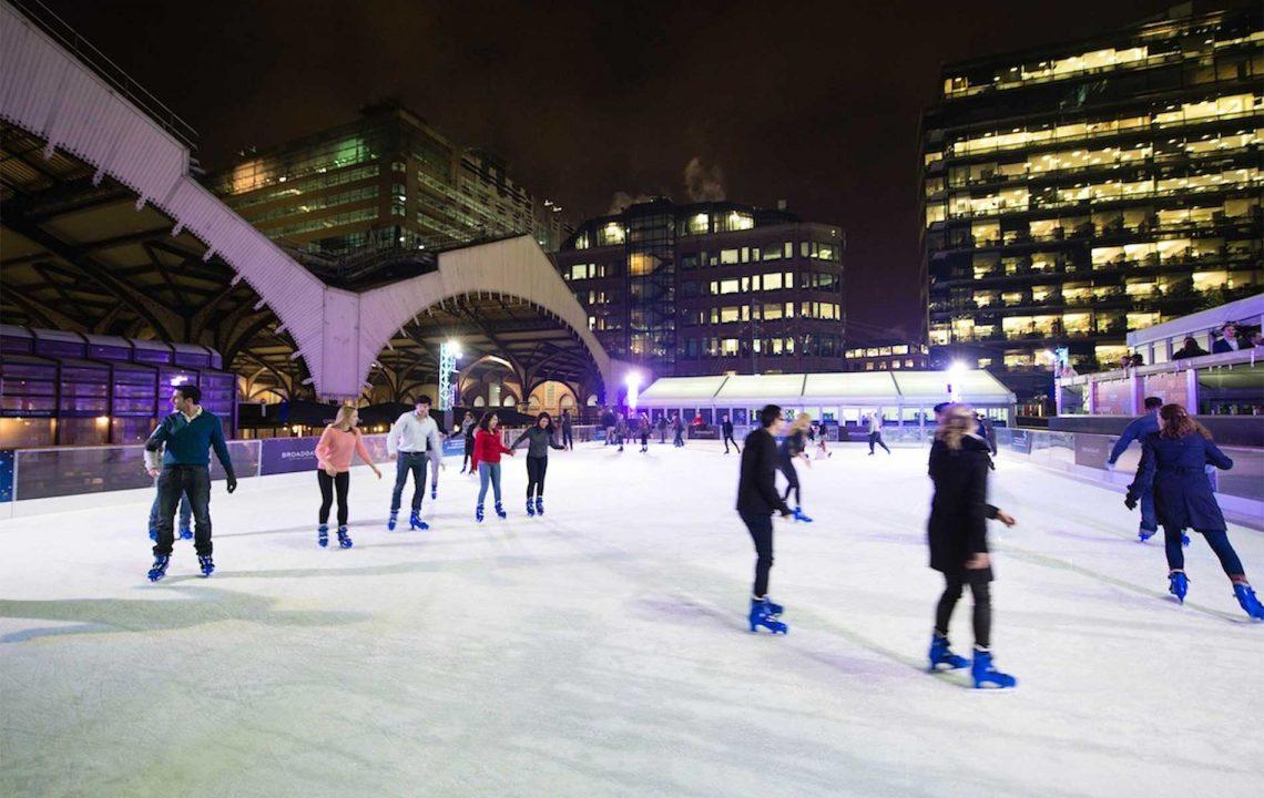 Ice Skating London | Broadgate