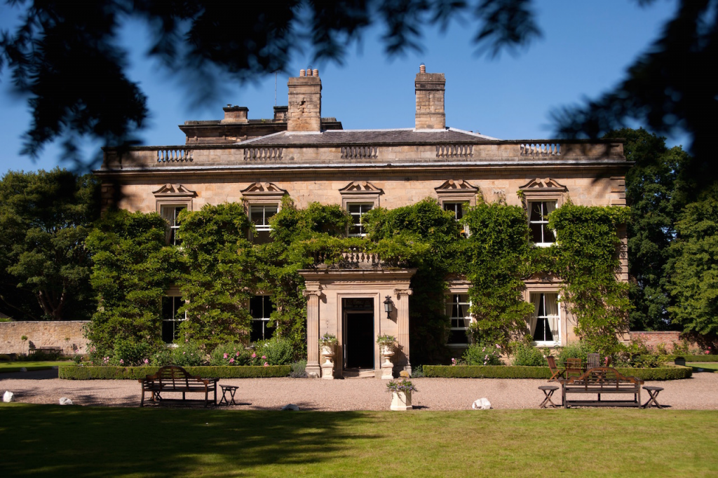 England's Best Country House Hotels | Eshott Hall Hotel– Morpeth, Northumberland