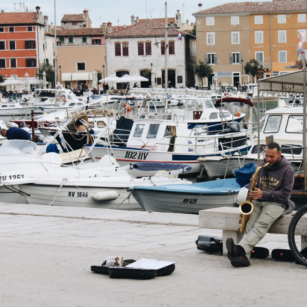 Fishing and Music - Rovinj