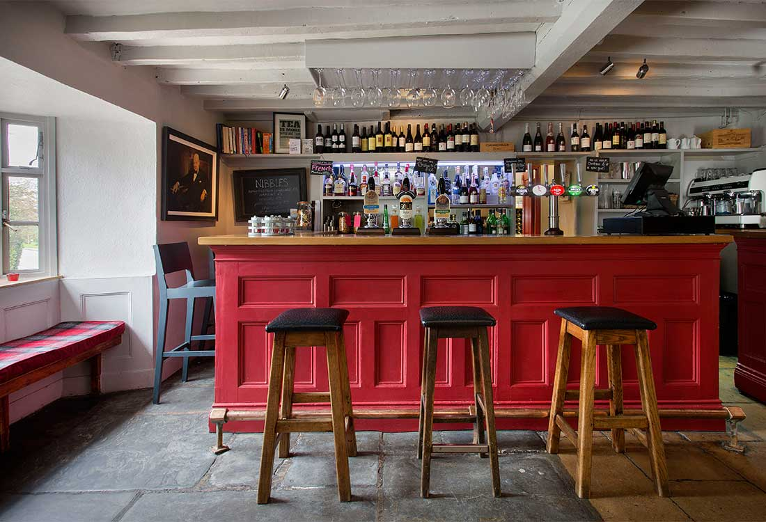 British Pubs with a Room | The Churchill Arms