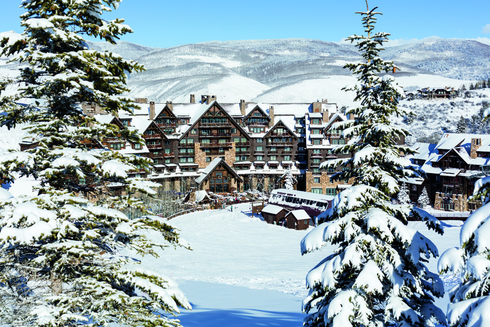 Where To Stay For The Ultimate Romantic Ski Holiday | The Ritz-Carlton, Bachelor Gulch – Beaver Creek Mountain, Colorado | Don Riddle Images