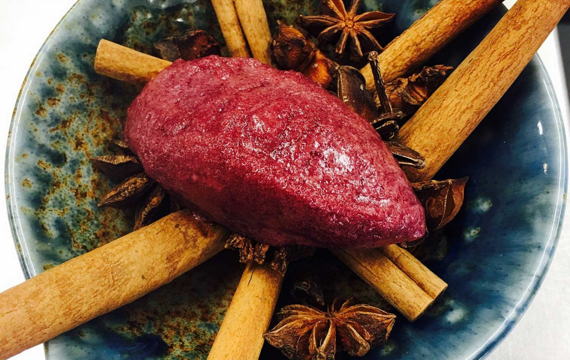 Christmas Dishes Worldwide | The Unruly Pig - Mulled Wine Sorbet