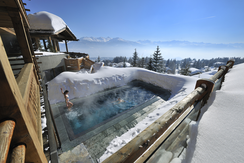 Where To Stay For The Ultimate Romantic Ski Holiday | Le Crans Hotel & Spa – Montana, Switzerland