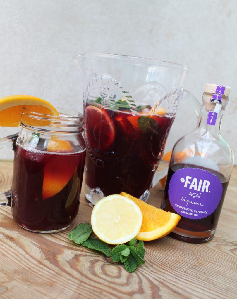 Recipe | Acai Liqueur & Apricot Sangria