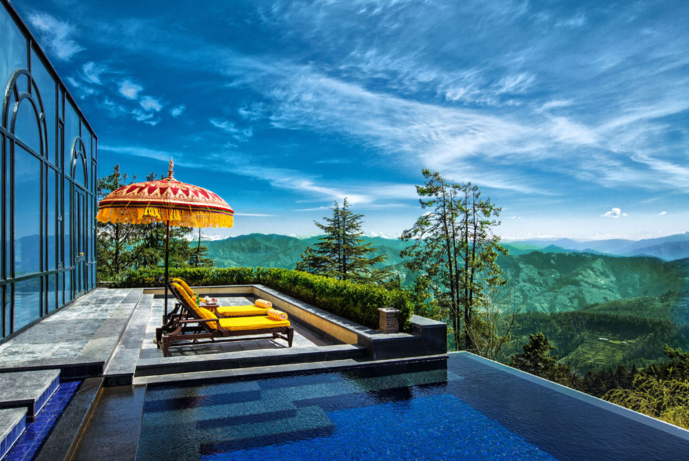 Top 11 Hotel Pools For Instagram Envy | Wildflower Hall, Shimla in the Himalayas