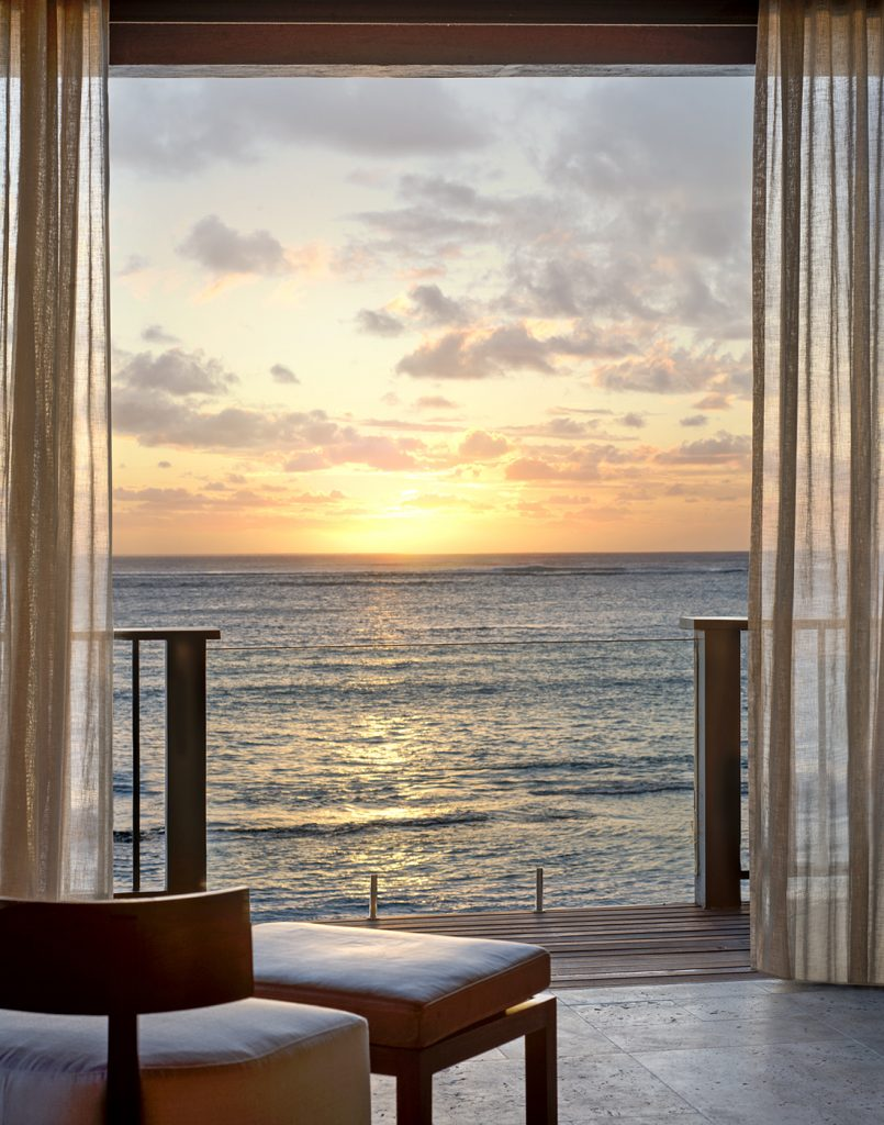 The St. Regis Mauritius Sunset View