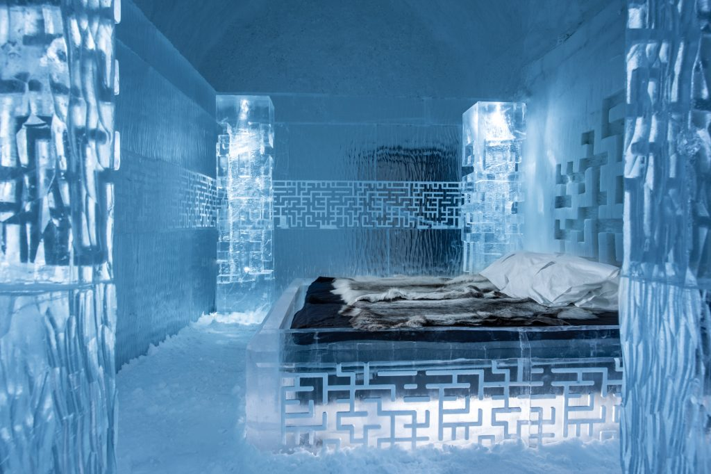 9 Themed Hotels You Need To Visit This Year | Ice Themed- Icehotel, Swedish Lapland | DONT-GET-LOST-by-Tommy-Alatalo-photo-by-Asaf-Kliger