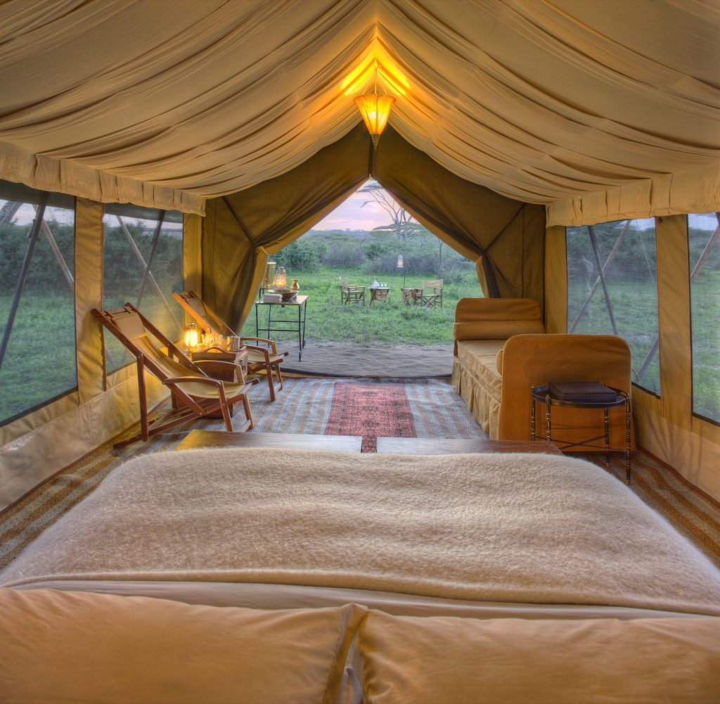 Glamping At Its Best With Africa's Luxury Tented Camps | andBeyond Serengeti Under Canvas
