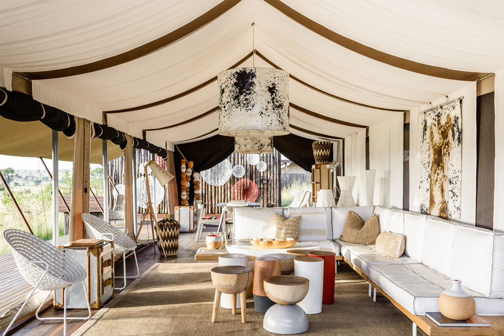 Glamping At Its Best With Africa's Luxury Tented Camps | Singita Mara River Tented Camp