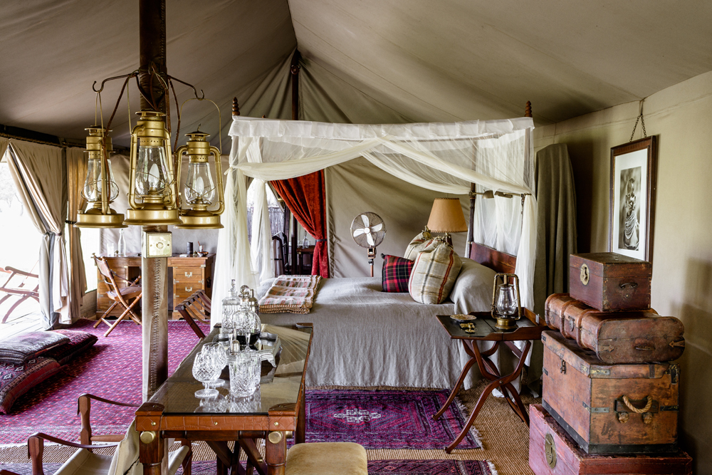 Glamping At Its Best With Africa's Luxury Tented Camps | Singita Sabora Tented Camp