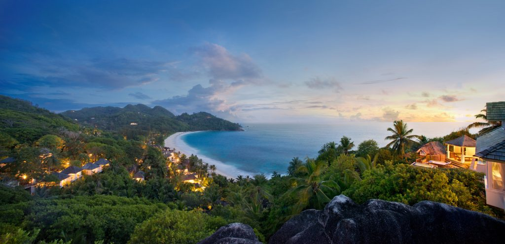 World's Most Romantic Clifftop Hotels - Banyan Tree Seychelles