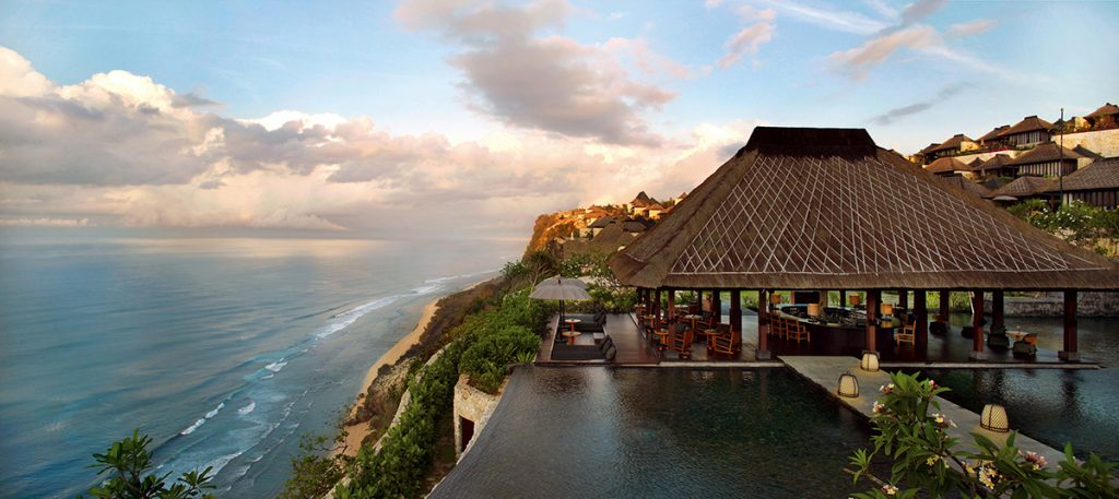 World's Most Romantic Clifftop Hotels - Bulgari Hotel, Bali