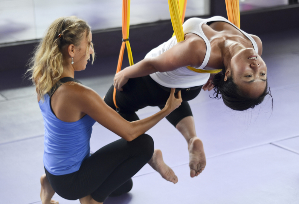 Where To Travel For The Best Active Couples Holidays | Aerial Yoga in Thailand: Phuket Cleanse Detox & Fitness