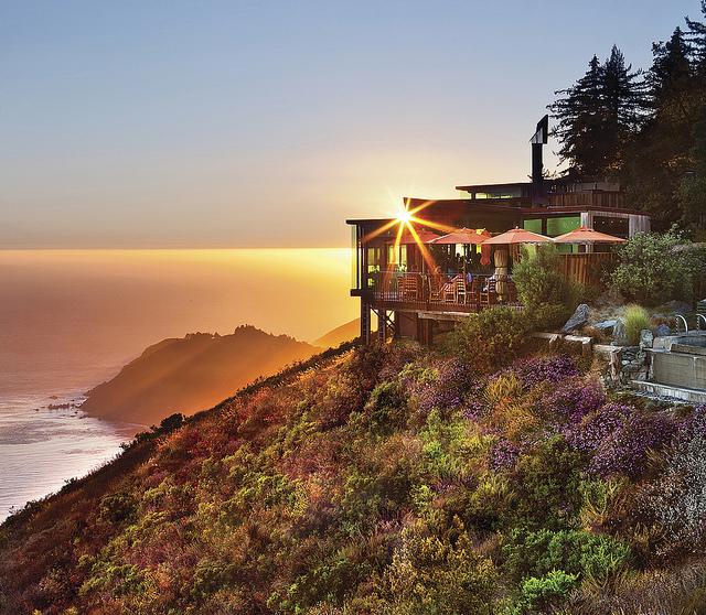 World's Most Romantic Clifftop Hotels - Post Ranch Inn