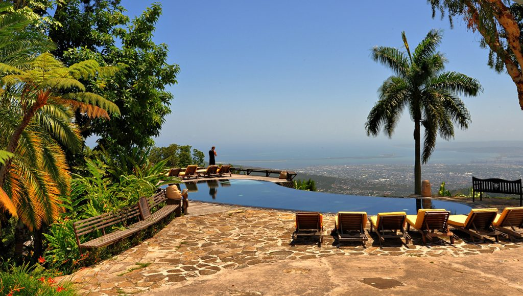 World's Most Romantic Clifftop Hotels - Strawberry Hill, Jamaica