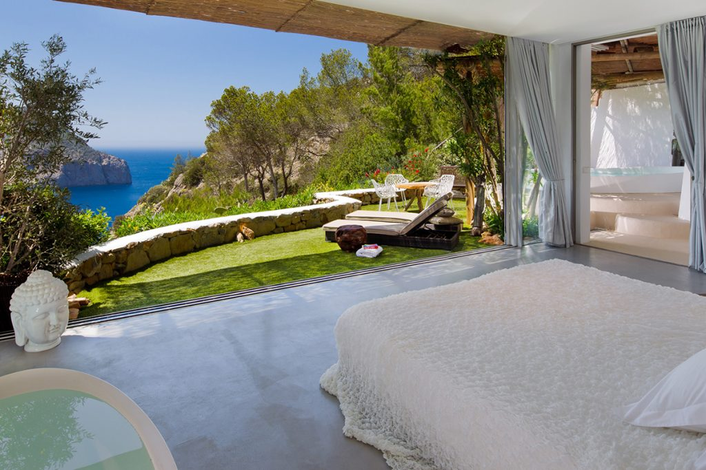 World's Most Romantic Clifftop Hotels - Hacienda Na Xamena, Ibiza