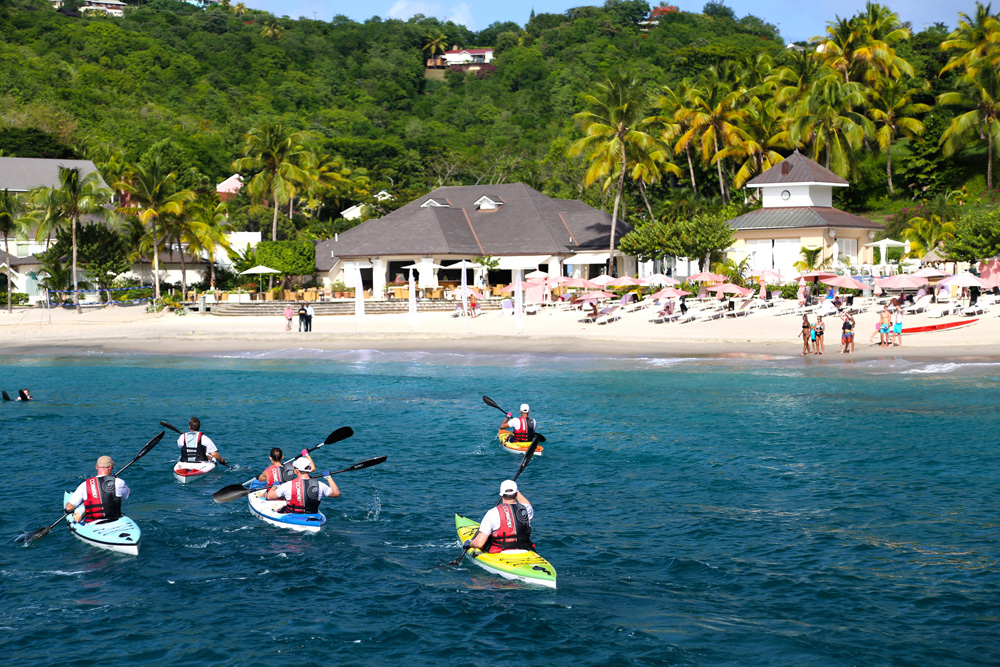 Where To Travel For The Best Active Couples Holidays | Kayaking in St Lucia: The BodyHoliday Fusion Fitness