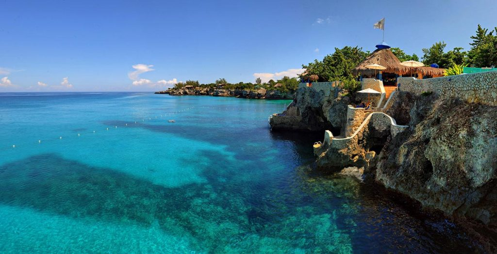 World's Most Romantic Clifftop Hotels - The Caves, Jamaica