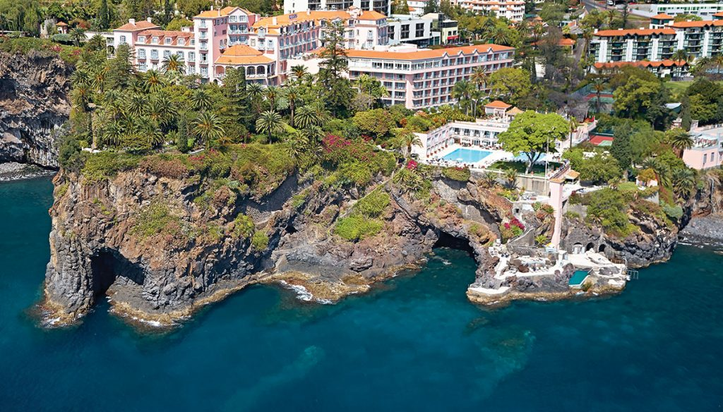 World's Most Romantic Clifftop Hotels - Reids Hotel, Madeira