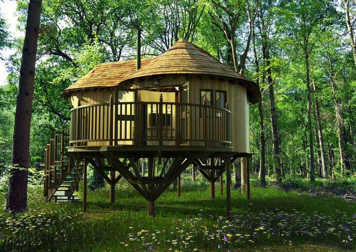 The UK's Most Romantic Treehouses | Hothorpe Hall Treehouse