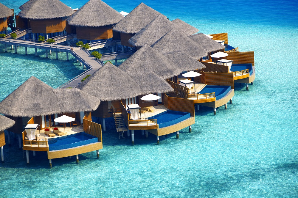 11 Best Luxury Babymoon Breaks | ®Baros Maldives_WPV Aerial_HR