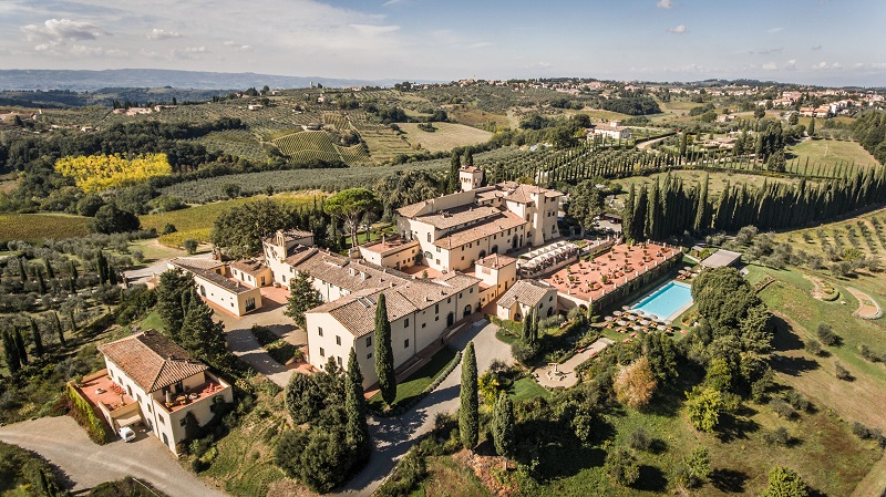 11 Best Luxury Babymoon Breaks | Castello del Nero panoramic-view