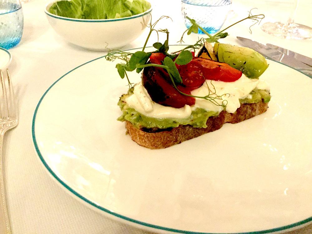 Eat At…The English Grill | Avocado Burrata Toast