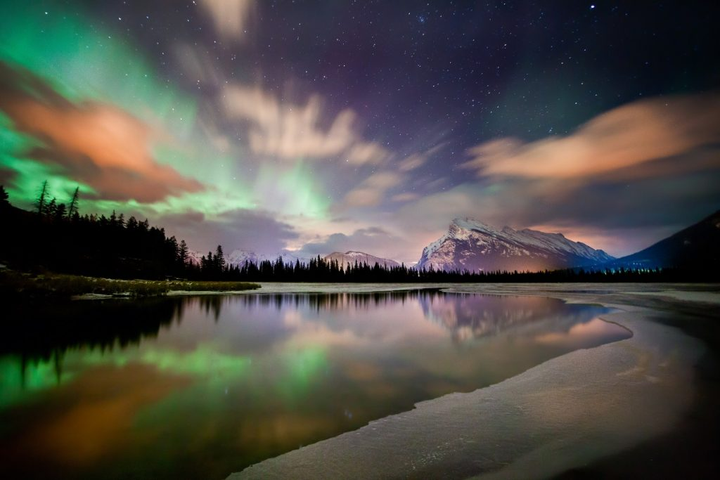 Top 10 Ways To See The Northern Lights Together | Discover The Dark Sky Preserves In Alberta | Credit Paul Zizka