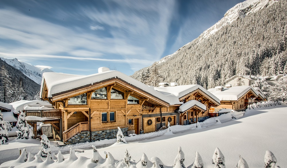 Favourite Festive Playgrounds of the Rich and Famous | Chamonix, Mont-Blanc, www.lesrivesdargentiere.com