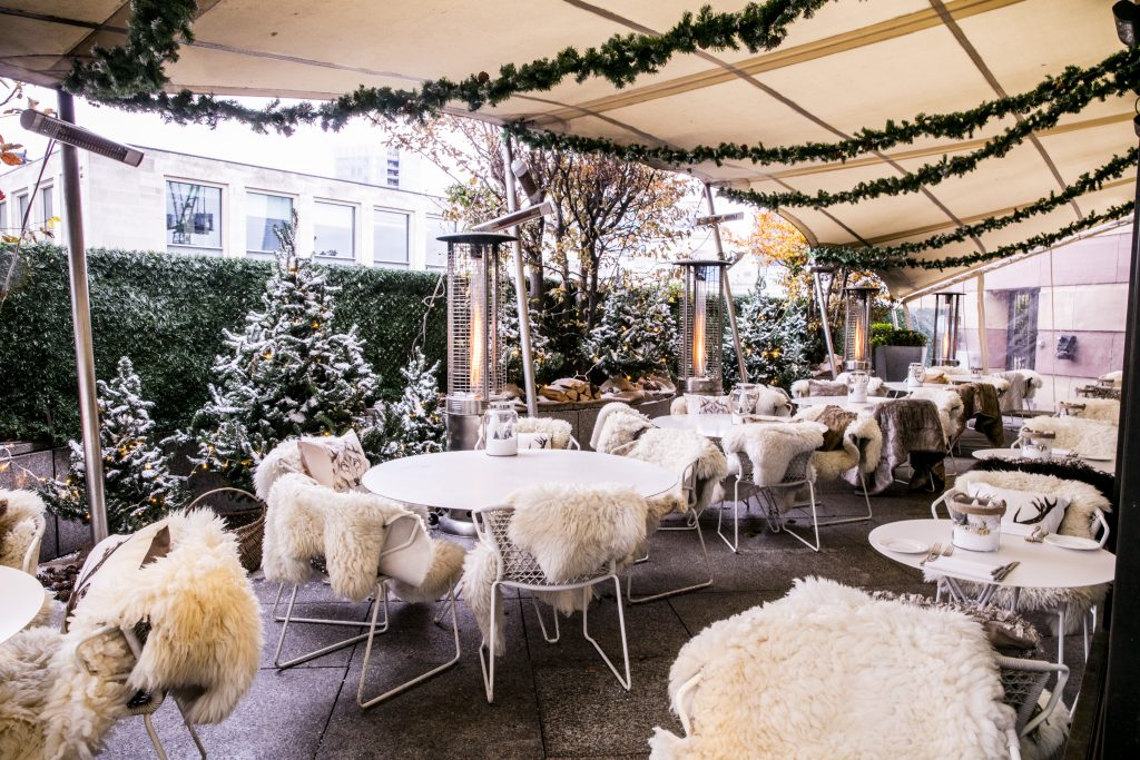 Warm Up At London's Best Winter Bars & Terraces | Lodge d'Argent