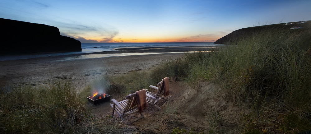 Top UK Hotels For The Ultimate Winter Proposal | Bedruthan Hotel & Spa, Cornwall