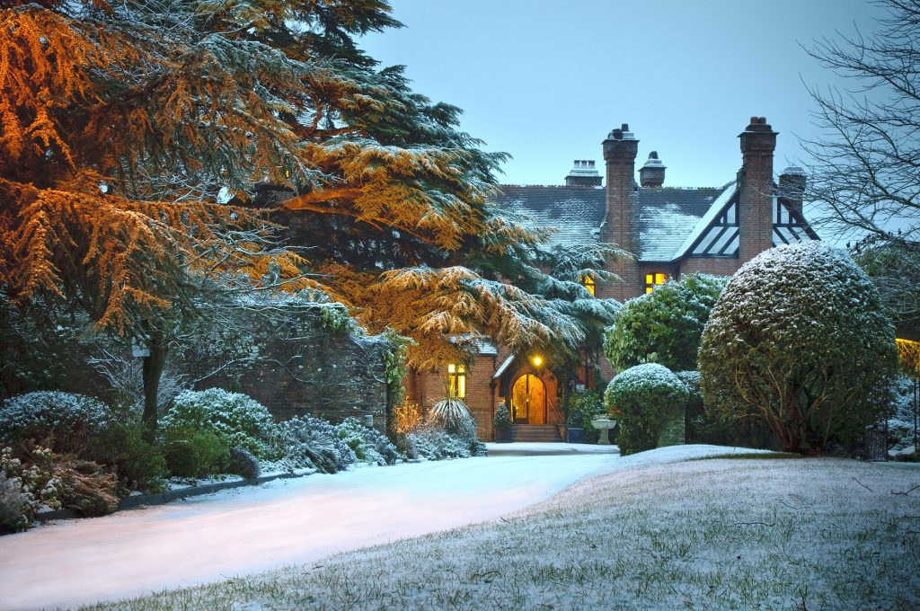 Top UK Hotels For The Ultimate Winter Proposal | Careys Manor Hotel, Hampshire