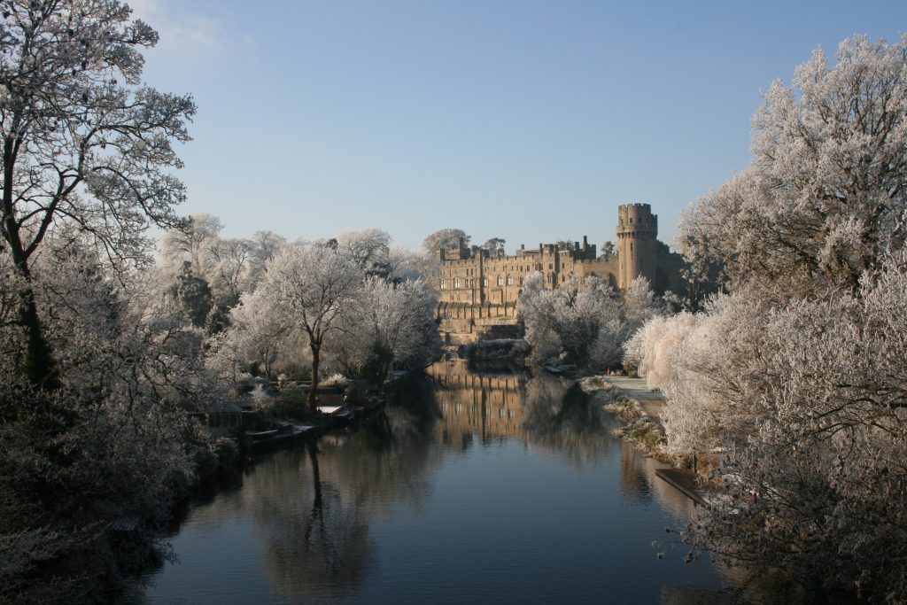 Top UK Hotels For The Ultimate Winter Proposal | Wintry Warwick Castle by Liz Healey