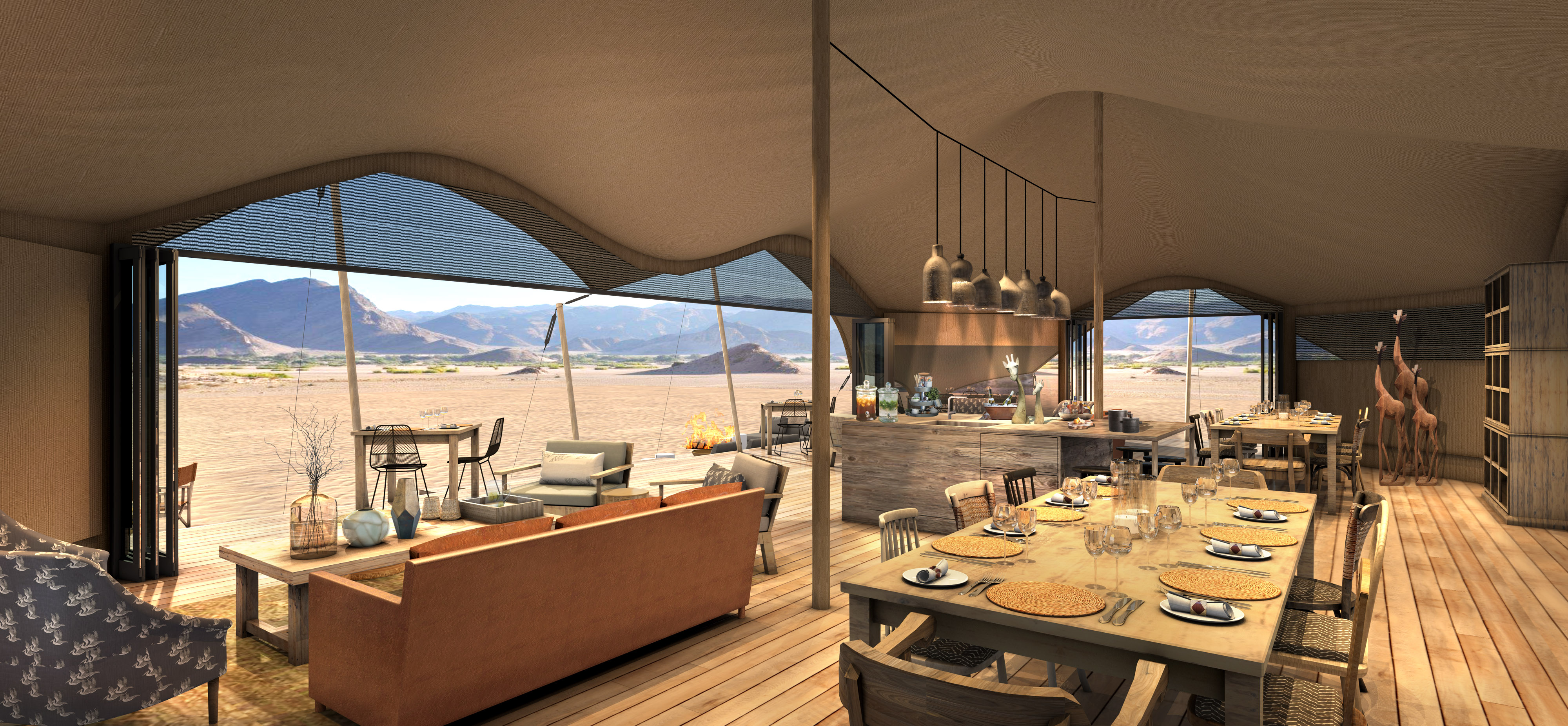50 New Hotel Openings For 2018 | Africa | Hoanib Valley Camp - Hoanib River Valley, Namibia