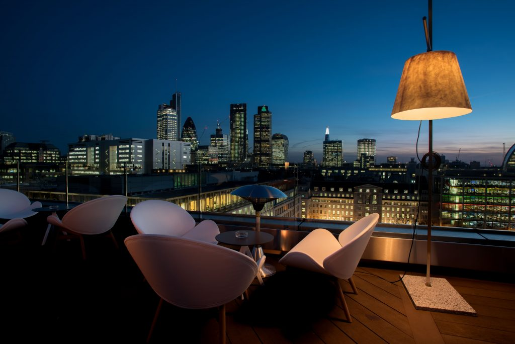 London's Most Romantic Restaurants For Valentine's Day   Aviary Rooftop