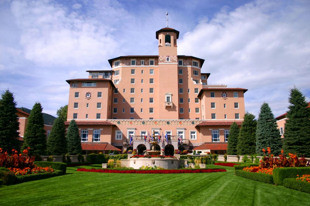 Prettiest Pink Hotels Around The World | The Broadmoor - Colorado Springs, Colorado, USA