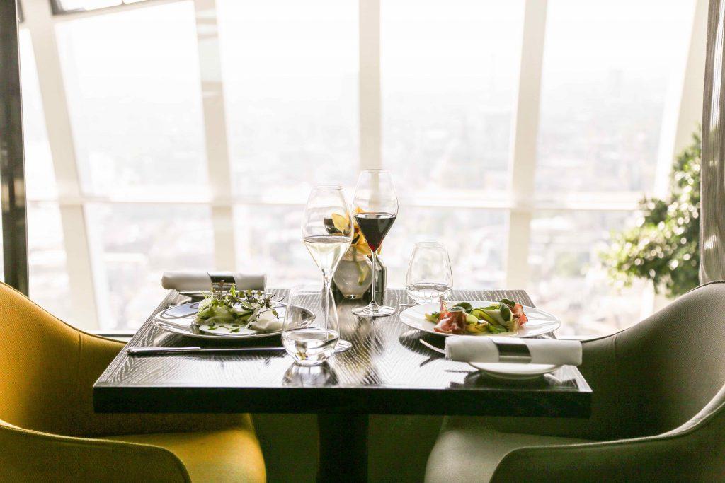London's Most Romantic Restaurants For Valentine's Day   Fenchurch Sky Garden