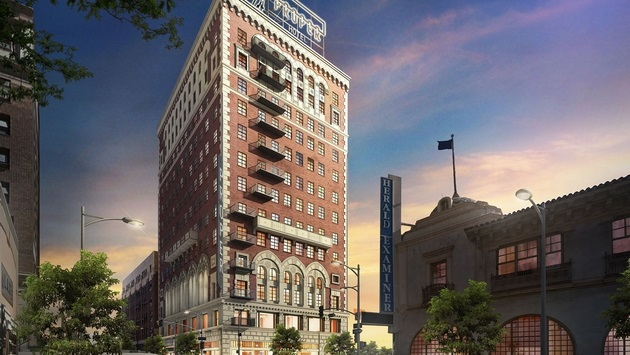 50 New Hotel Openings For 2018 | North America | Downtown LA Proper Hotel – Downtown L.A., California, USA